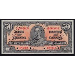 1937 Bank of Canada $50 Specimen