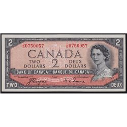 1954 Bank of Canada $2 Devil's Face