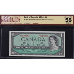 Lot of Five Bank of Canada Notes
