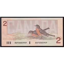1986  Bank of Canada $2