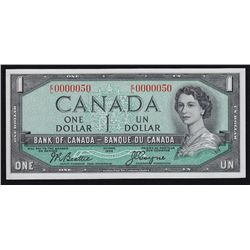 1954 Bank of Canada $1