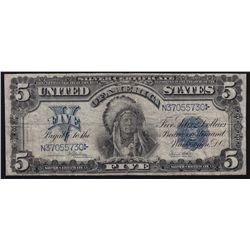 1899 Unted States of America $5 Silver Certificate