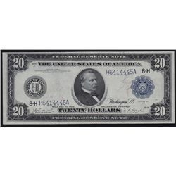 1914 United States of America Federal Reserve $20