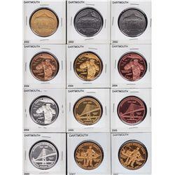 Lot of 19 Dartmouth Nova Scotia APNA & Coin Club Medals
