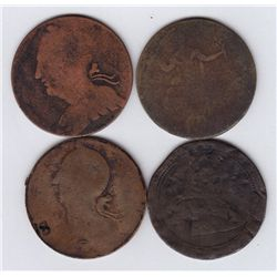 Lot of 3 Blacksmith Tokens and 1 Breton
