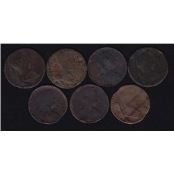 Lot of 7 Blacksmith Token