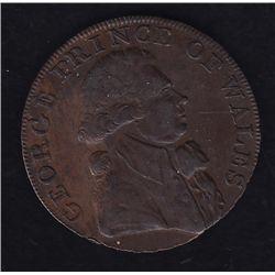 1795 Half Penny, Wales