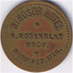 Windsor Hotel N. Rosenblat Prop. Winnipeg, Man.