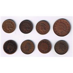 Lot of 8 Patriotic Tokens.