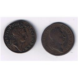 Lot of 2 USA Tokens.
