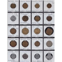 Lot of 20 USA Bar tokens.