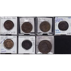 Lot of 7 Foreign Counterfeits.