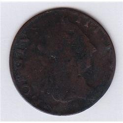 1769 'Simian' style counterfeit.