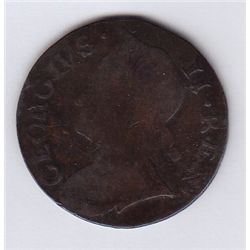 1733 Georgivs II Rex Evasion.