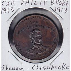 1913 Brock medal.