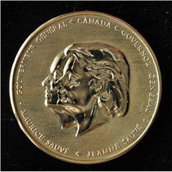 Jeanne Sauve Medal.