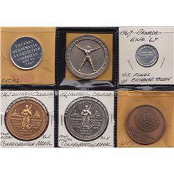Canada Centennial Medals.