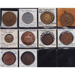 Quebec Medallions.