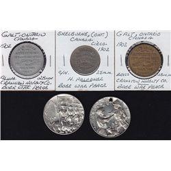 Boer War Medallions.