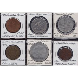 Hamilton, ON Medallions.