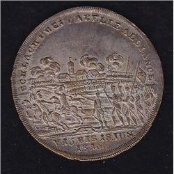 Wellington Blucher Silvered Medal.