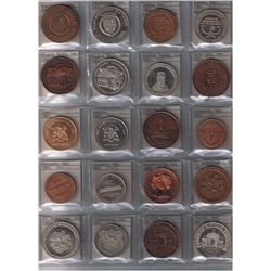 Lot of 26 1967 Trade Dollars.