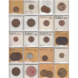 Lot of 54 Misc Numismatic Items.