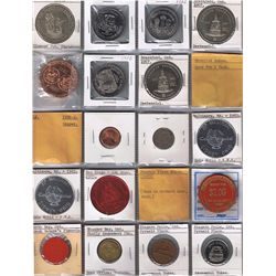 Lot of 81 Miscellaneous Numismatic Items.
