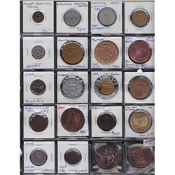 Miscellaneous Lot of 112 Tokens and Medallions.