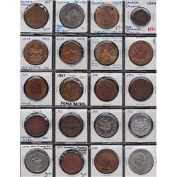 Lot of 106 Commemorative Medals & Tokens.