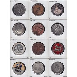 Lot of 19 Coin Club.