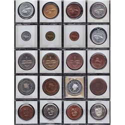 Lot of 24 Various Prince Edward Island Medals.
