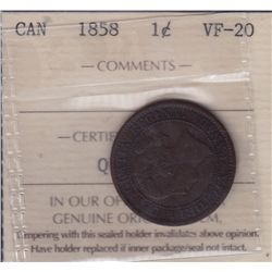 1858 One Cent.