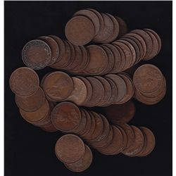 Lot of 75 Large One Cents.