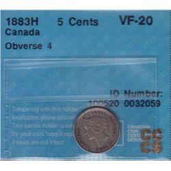 1883H Five Cent.