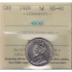 1929 Five Cent.