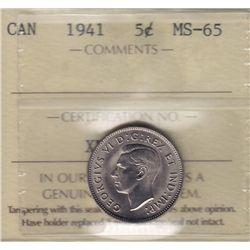 1941 Five Cent.