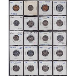 Lot of 75 Five Cents.