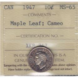 1947 Ten Cent.