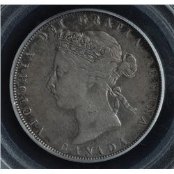 1870 Fifty Cent No LCW.