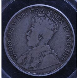 1921 Fifty Cent.