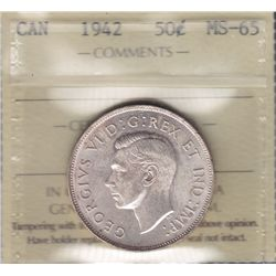 1942 Fifty Cent.