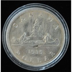 1935 JOP Silver Dollar.