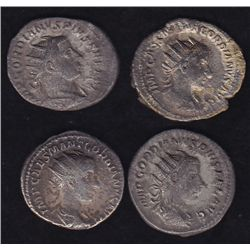 Group of 4 Gordian III.