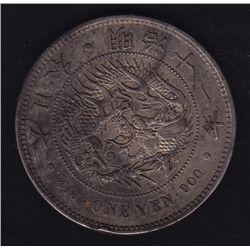 Japan, Meiji period 1 Yen.