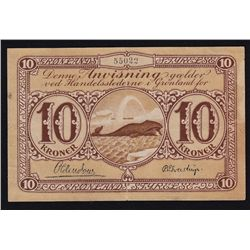 Greenland 10 Kroner.