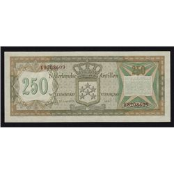 Netherlands Antilles 250 Gulden.