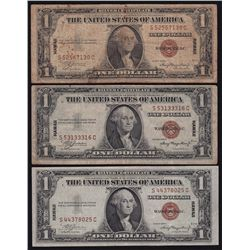 Lot of 6 Various US Banknotes.