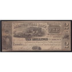 1836 Agriculture Bank $2.