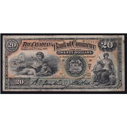 1912 Bank of Commerce $20.